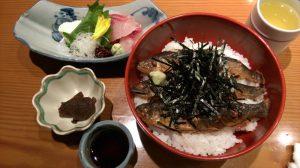京都・貴船「鳥居茶屋」鮎茶漬け&鯉のあらい