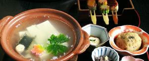 京豆腐でほっこりと。~京都・北野天満宮前「とようけ茶屋」~